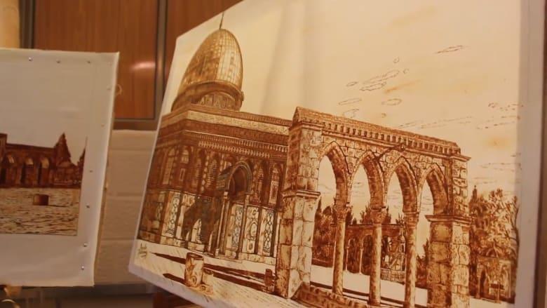 زيارة القدس والمعالم التاريخية العالمية..بالحناء