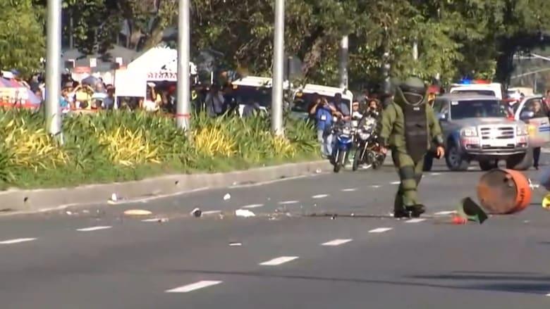 """الشرطة تبطل مفعول قنبلة قرب السفارة الأمريكية في الفلبين.. واشتباه بـ""""جماعات إسلامية"""""""