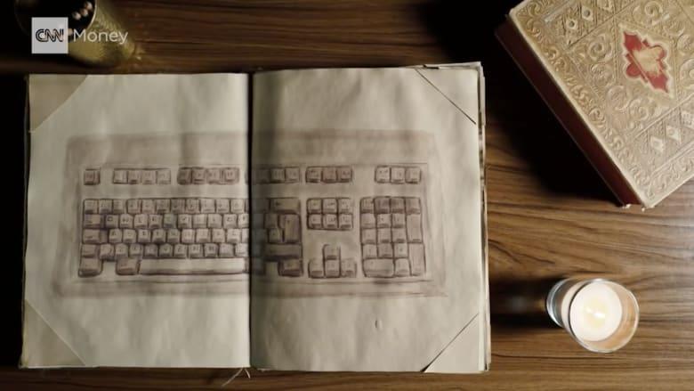 لماذا جاء ترتيب الحروف على لوحات المفاتيح بهذا الشكل؟