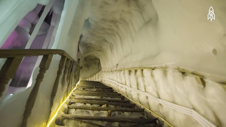 كهف جليدي لا يذوب منذ ملايين السنين
