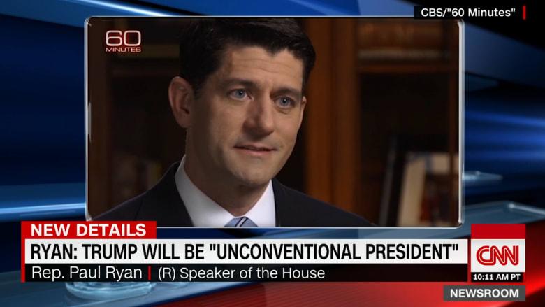 شاهد ما قاله رايان عن قوة الكونغرس في ظل إدارة ترامب
