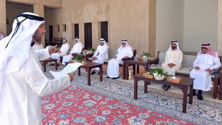 """ولي عهد دبي في قصيدة للعاهل السعودي: """"المليك اللي على صنع الحدث في الأرض بادر"""""""