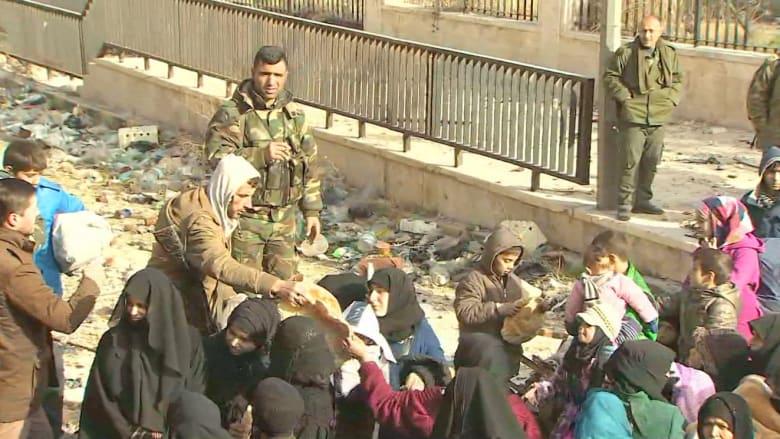 عدسة CNN توثق الأحداث في حلب.. وسط تقدم قوات جيش الأسد