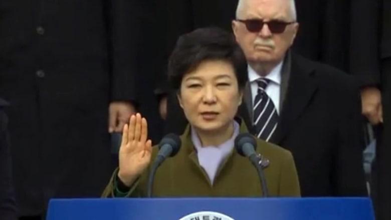 برلمان كوريا الجنوبية يصوت لعزل الرئيسة بارك جيون هاي على خلفية فضيحة فساد