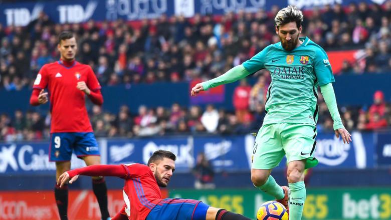 برشلونة ينهي سلسلة التعادلات بفوز على أوساسونا