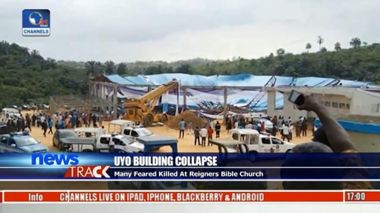 مقتل 50 شخصاً بعد انهيار كنيسة في نيجيريا