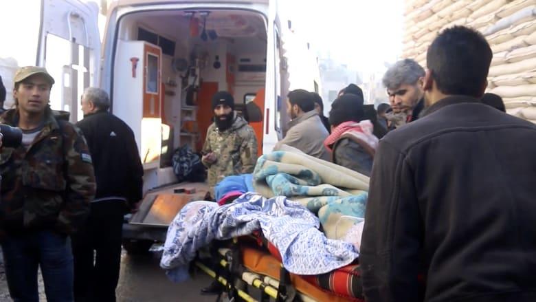 بكاميرا شبكتنا.. عمليات إخلاء المصابين من شرق حلب