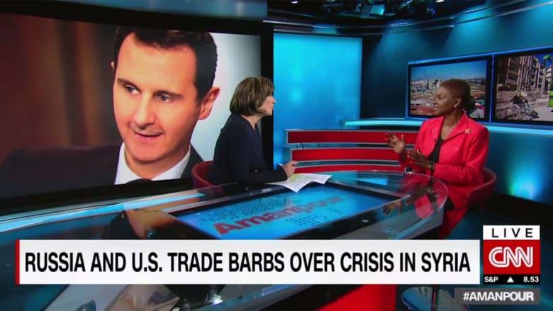 """فاليري آموس تعلق لـCNN على """"تبادل الإهانات"""" بمجلس الأمن حول سوريا"""