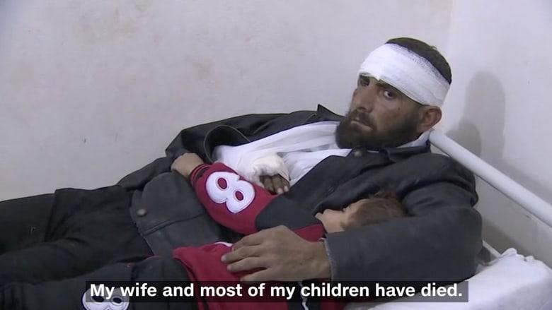 لاجىء سوري يروي الرعب الذي عاشته عائلته بحلب