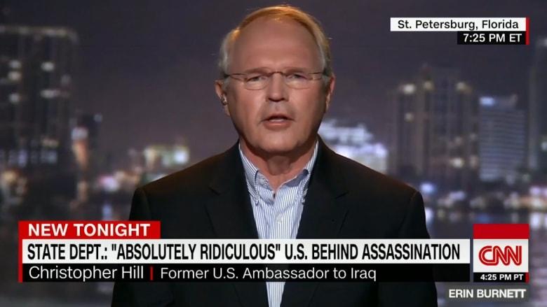 سفير أمريكي سابق بالعراق: مقتل السفير الروسي لن يمر دون تصعيد