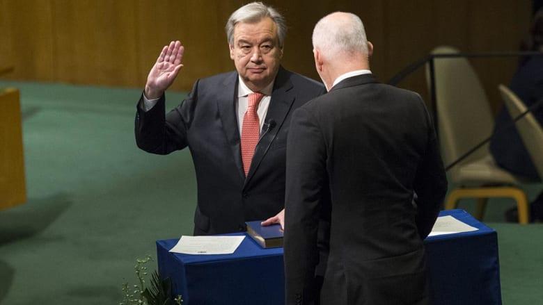 کاملیا انتخابی فرد تكتب: هل يتمكن أنطونيو غوتيرس من تغيير الأمم المتحدة؟