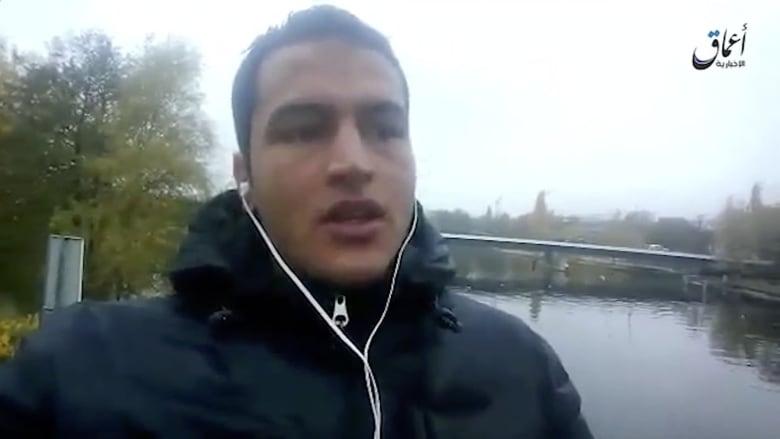 المشتبه به بهجوم برلين يظهر في شريط فيديو وهو يعلن الولاء لداعش