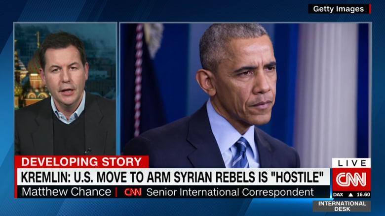 """روسيا تنتقد """"تحول"""" سياسة أمريكا حول تسليح المعارضة السورية"""
