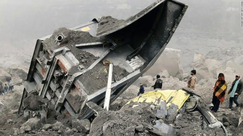 مقتل 7 بانهيار منجم للفحم ومحاصرة العشرات بالهند