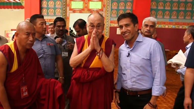 شاهد.. دالاي لاما يقدم أمنية غير معتادة بمناسبة العام الجديد