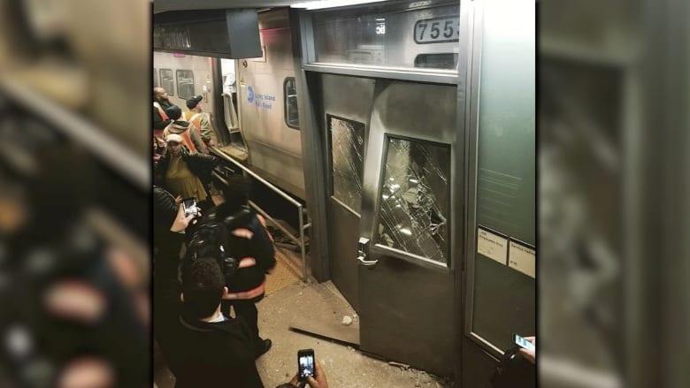 إصابة العشرات في نيويورك بعد خروج قطار عن مساره