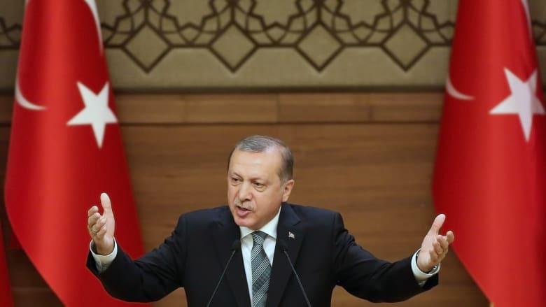 """أردوغان: """"درع الفرات"""" في سوريا لن تتوقف عند الباب وستواصل للرقة"""
