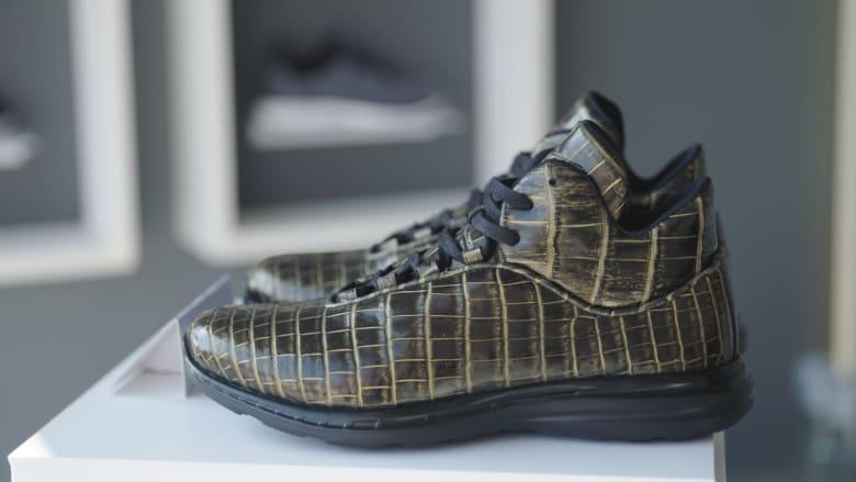 مما صُنع أغلى حذاء رياضي في العالم؟