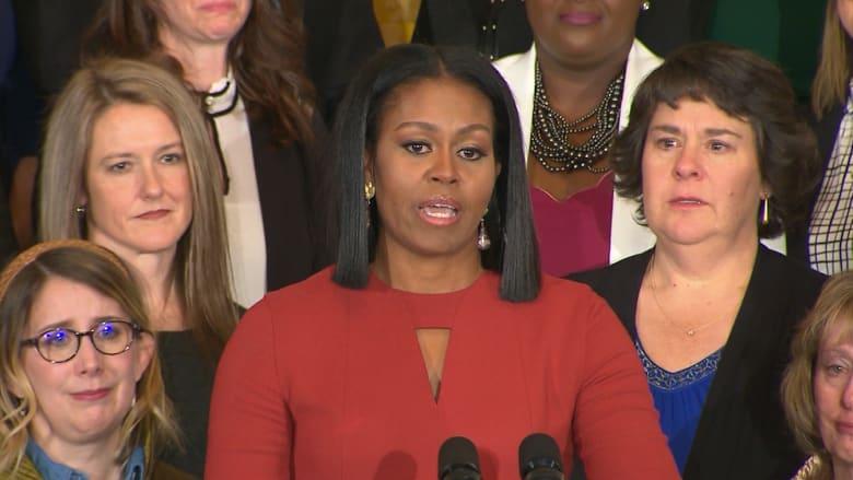 أجمل لحظات السيدة الأولى ميشيل أوباما