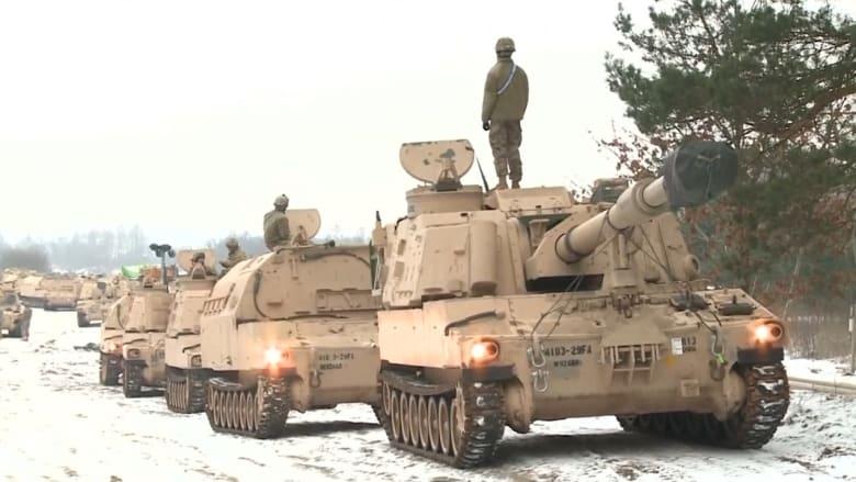 بولندا تستقبل آلاف الجنود الأمريكيين.. وروسيا: مسار يسعى للمواجهة