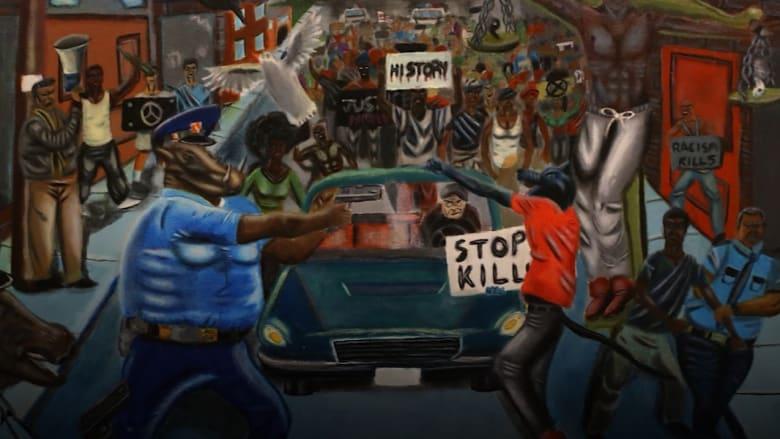 """إزالة لوحة فنية عن حقوق السود وأحداث """"فيرغسون"""" من مبنى """"الكابيتول"""""""