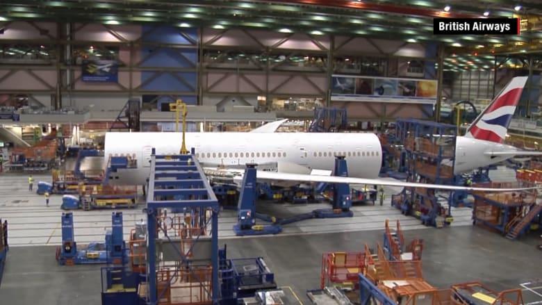 شاهد بناء طائرة بوينغ دريملاينر بأقل من دقيقتين