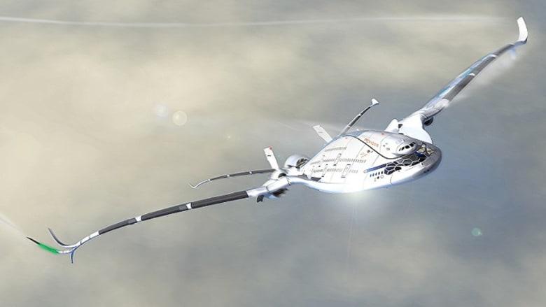 بالصور.. هل هذه طائرة المستقبل؟