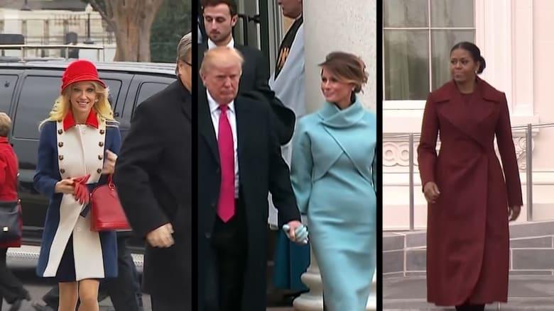 أشهر الأزياء في مراسم تنصيب ترامب