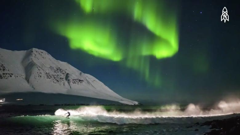 مصّور تحدى التجمد القطبي بأقوى عاصفة منذ 25 عاماً