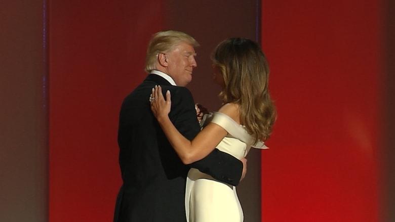 هكذا رقص ترامب بعد تنصيبه رئيساً للولايات المتحدة