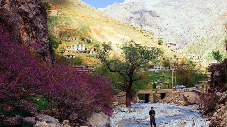 بالصور.. على طريق كردستان الإيرانية