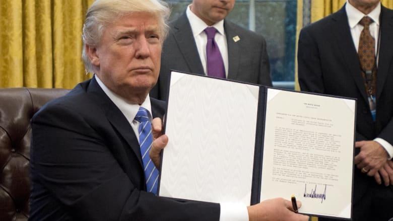 المراسيم التنفيذية سلاح ترامب الجديد.. ما الذي يجب عليك معرفته؟