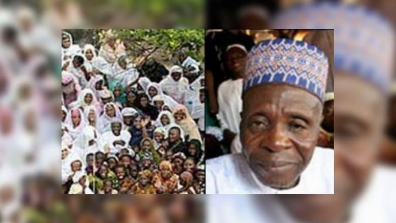"""وفاة """"داعية"""" نيجيري ترك 89 أرملة و180 ابناً وأحفاداً عددهم مجهول"""