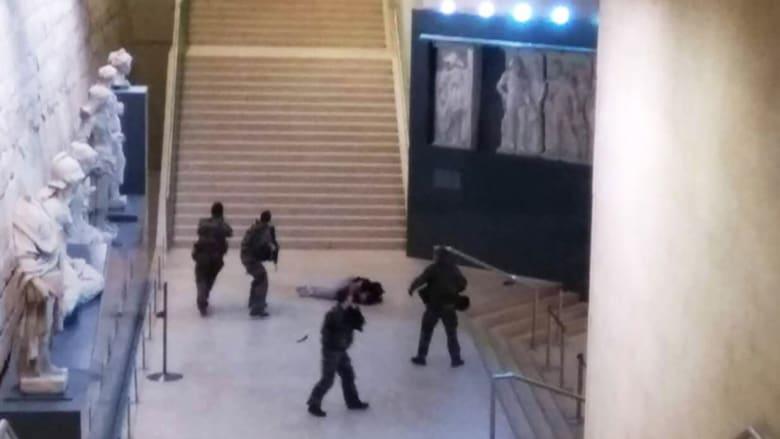 فرنسا: منفذ الهجوم قرب متحف اللوفر مصري مقيم بالإمارات