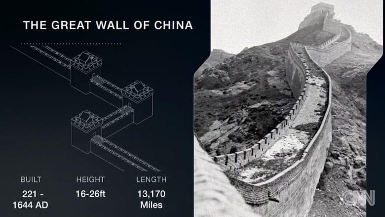 من سور الصين العظيم إلى جدار برلين.. ماذا يخبرنا التاريخ عن مستقبل جدار ترامب؟