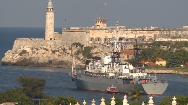 بعد فترة قصيرة من استقالة فلين.. شاهد: سفينة تجسس روسية على ساحل أمريكا