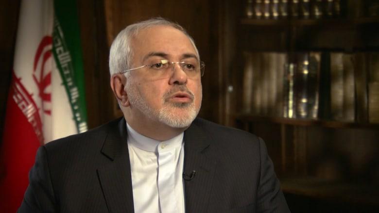 وزير خارجية إيران لـCNN: لا يمكن إعادة التفاوض على الاتفاق النووي