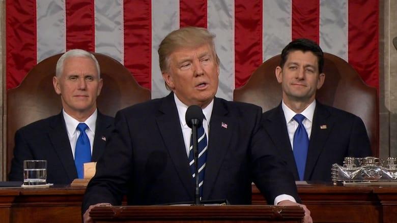 شاهد.. خطاب ترامب إلى الكونغرس في 90 ثانية