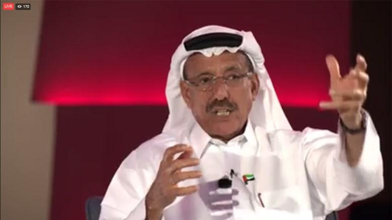 الحبتور يتناول ملفات سوريا وإيران وحزب الله ونظرته الاقتصادية بمجلس CNN