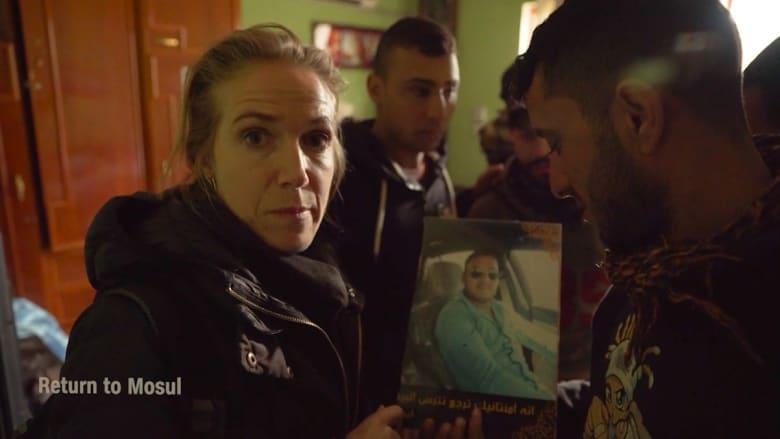 مراسلة CNN تعود إلى الموصل بعد استهداف قافلتها بهجوم انتحاري