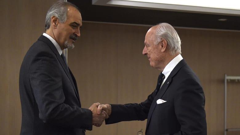 """النظام السوري يحمل """"وفد الرياض"""" مسؤولية أي فشل لمحادثات جنيف"""