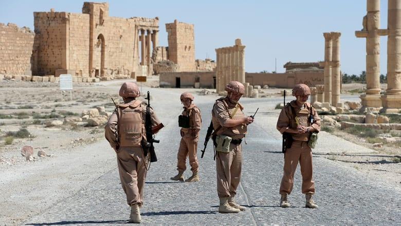 موسكو تؤكد مقتل جندي روسي بمهمة حماية بتدمر خلال التصدي لهجوم من داعش