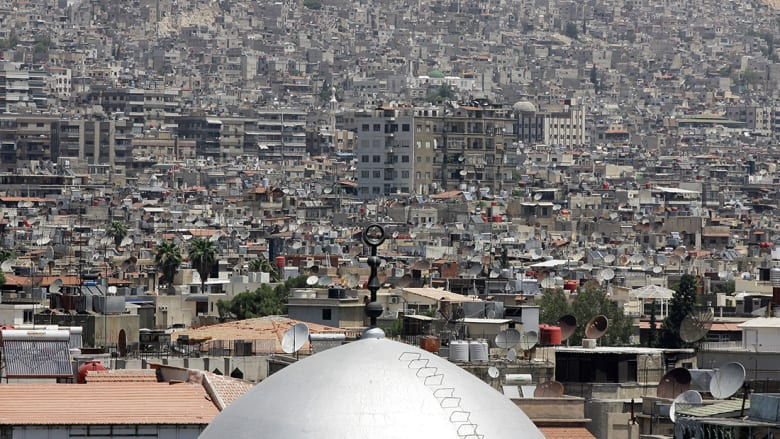 التلفزيون السوري: قتلى بتفجير عبوتين ناسفتين بمنطقة باب مصلى بدمشق