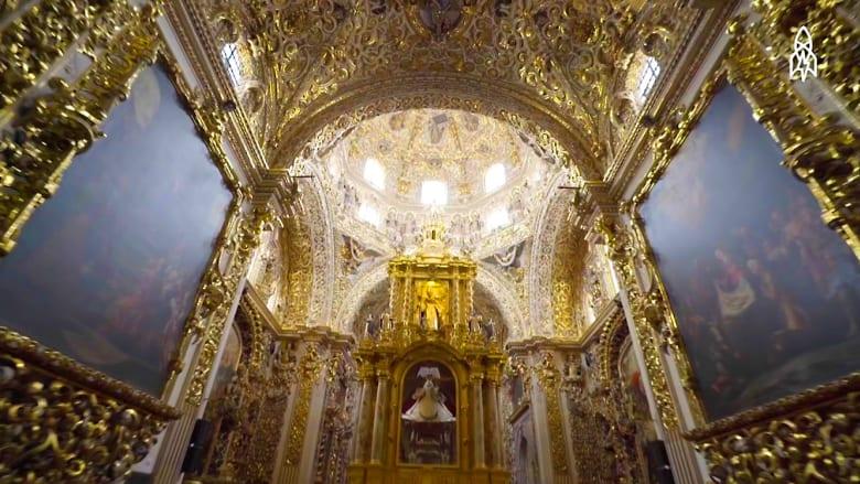 كمية الذهب في هذه الكنيسة تكفي خزينة بنكية!