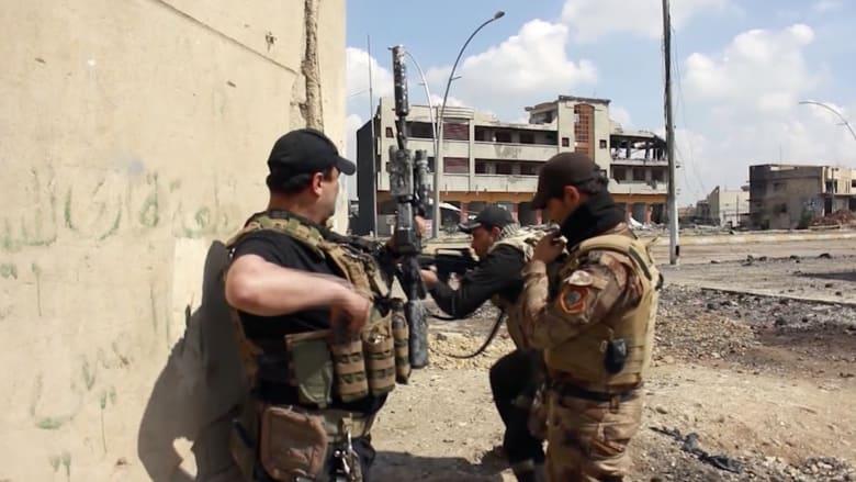 شاهد.. الجيش العراقي يقاتل داعش على مشارف البلدة القديمة بالموصل