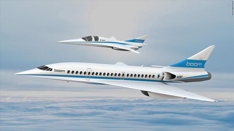 """شركة """"Boom"""" تعلن عن تمويل لتجارب الطيران بسرعة تفوق الصوت"""