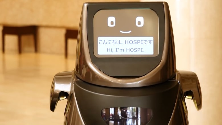 لماذا يتجول هذا الروبوت في ردهة الاستقبال بفندق ياباني؟