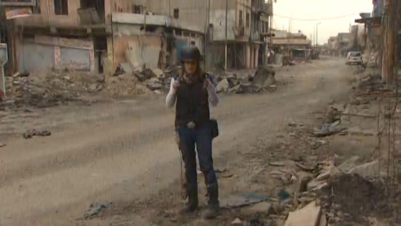 على الأرض من الموصل.. دمار في منطقة مكتظة بالسكان