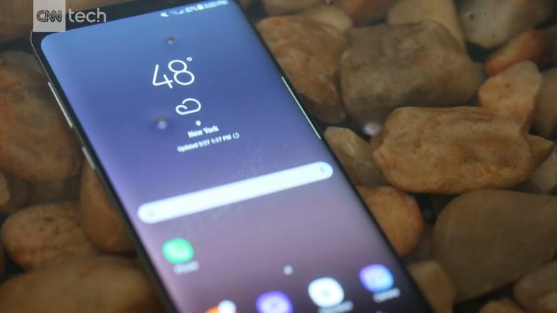 سامسونغ تكشف عن هاتفيها الجديدين غالكسي S8 وS8+