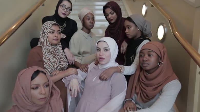 """سيدة محجبة حامل تغني """"الراب"""" ضد التعصب"""